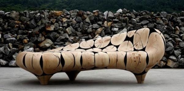 mobili scultura wooden sphere