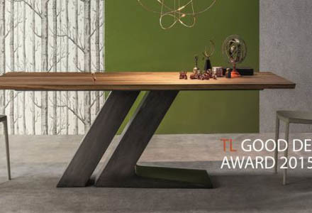 tavolo TL bonaldo good design award 2015