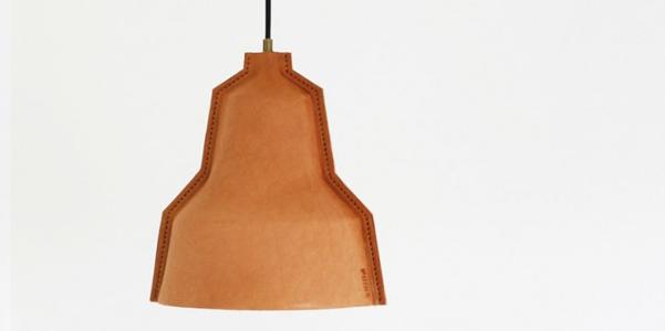 Lampada-cuoio Lloyd-Puik-Art