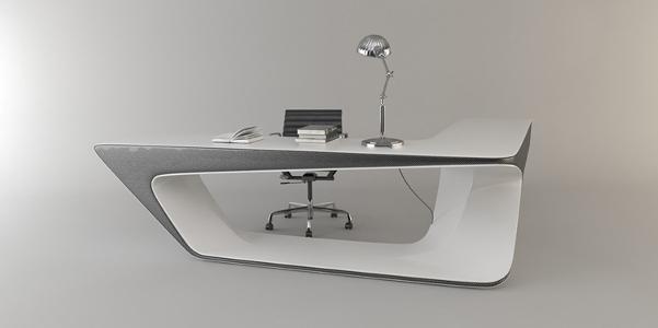 Mystica desk la scrivania da ufficio design for Design ufficio scrivania