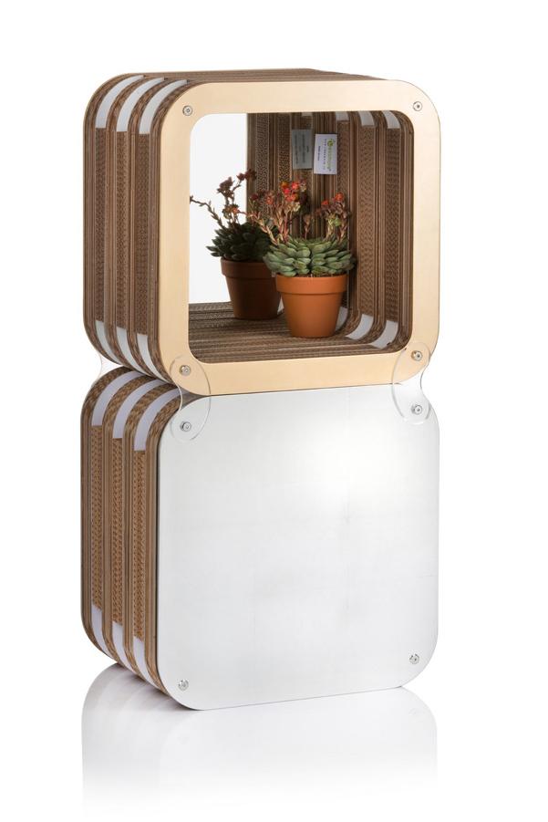 Specchio more reflections di lessmore for Stipetto bagno