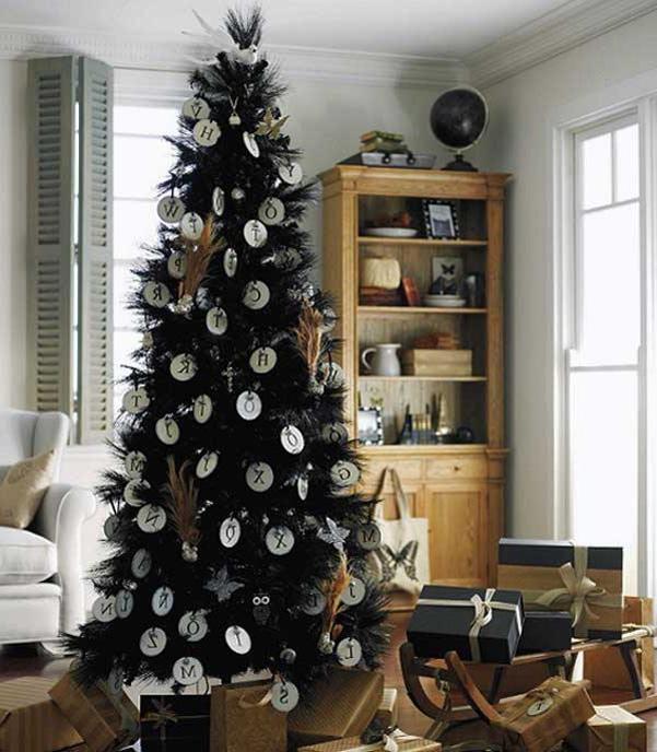 Albero Di Natale Nero.Albero Di Natale Nero Santantonioposta