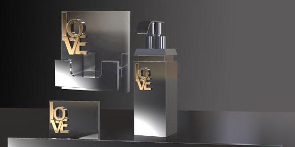 Accessori bagno Bertocci Love | DesignBuzz.it