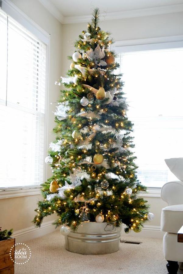Idee Decor Come Rivestire La Base Dell Albero Di Natale