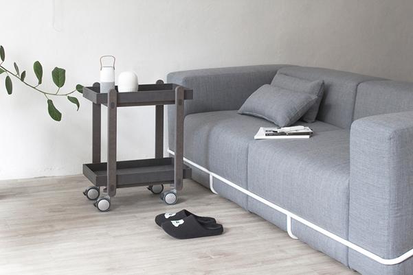 Frame sofa il divano con la struttura esterna for Divano wonder