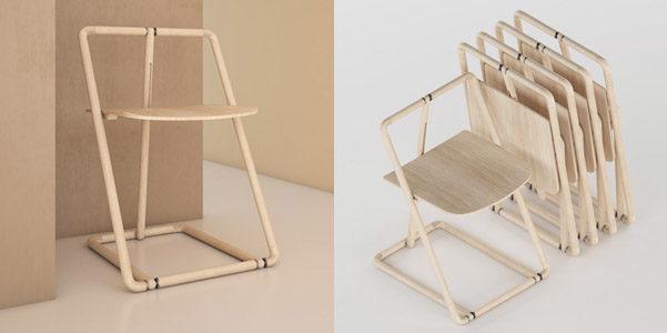Come Si Chiama Lo Sgabello Pieghevole.Flipp Chair La Sedia Pieghevole Designbuzz It