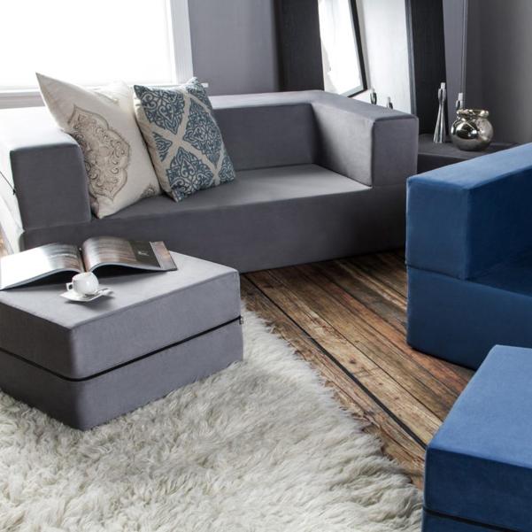Zipline il divano che si trasforma - Divano ecopelle che si spella ...
