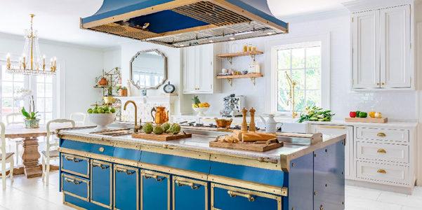 Cucina Ocean Blue di Officine Gullo | DesignBuzz.it