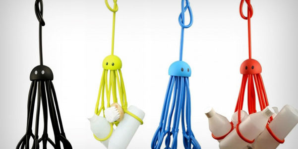 Octopus Shower Caddy, il bagno in ordine