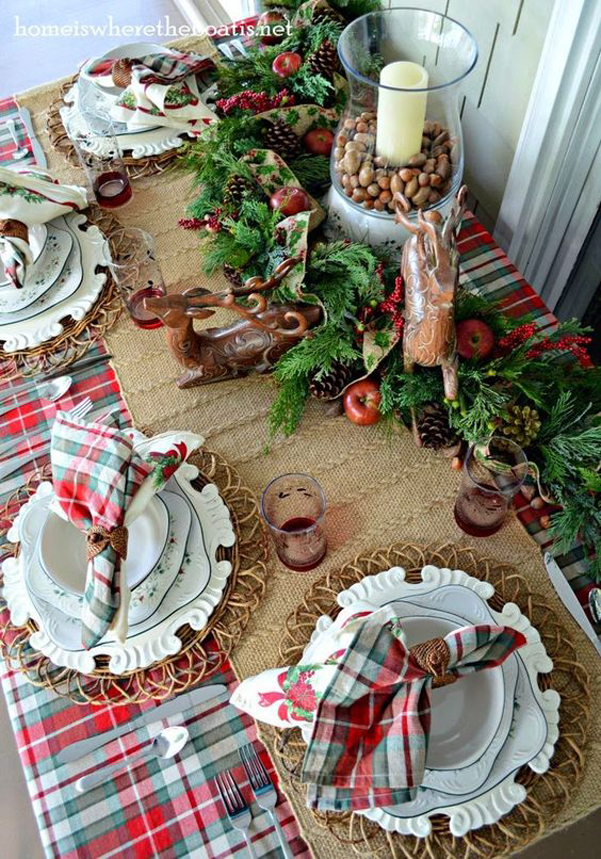 Idee decor tavola natale 2017 02 for Tavola natale 2017
