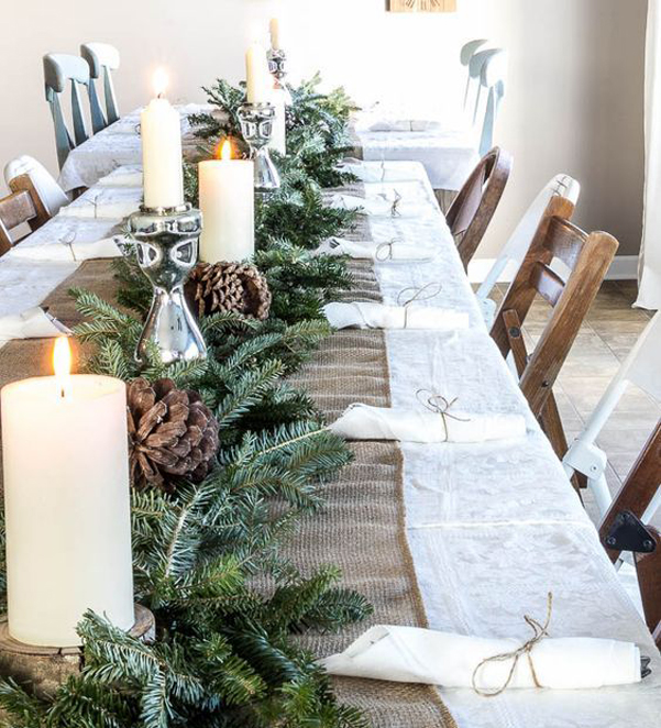 Idee decor tavola natale 2017 06 for Tavola natale 2017