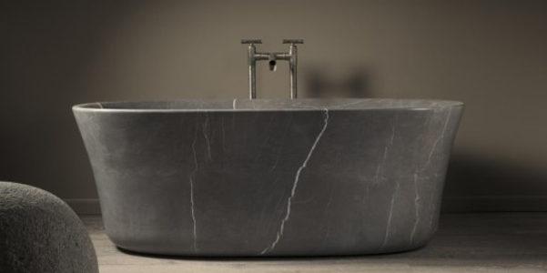 Vasca in pietra calma di stone forest - Vasca da bagno in pietra ...