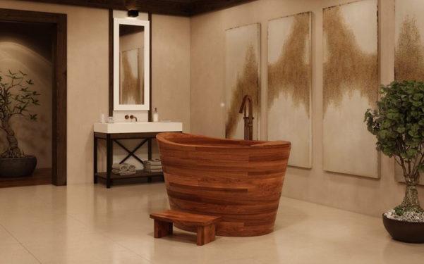 Vasca Da Bagno Ofuro : Vasca da bagno ofuro di aquatica designbuzz