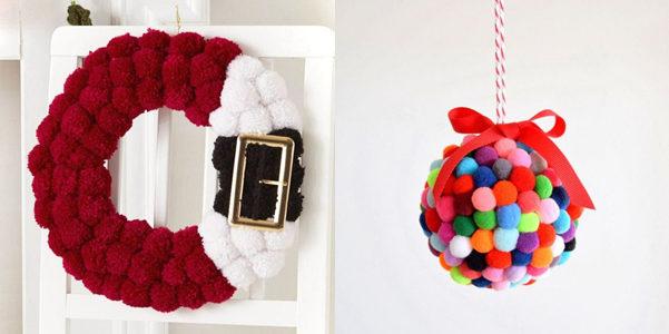 Idee Per Creare Decorazioni Natalizie.Idee Decor Come Decorare Il Tuo Natale Con I Pon Pon Designbuzz It