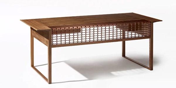 Arredi ispirati alle tradizionali tegole coreane - Palme con il cui legno si fanno sedie e tavoli ...