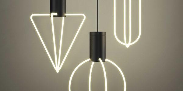 Luci Al Neon Per Ufficio.Le Lampade Al Neon Di Supergut Studio Designbuzz It