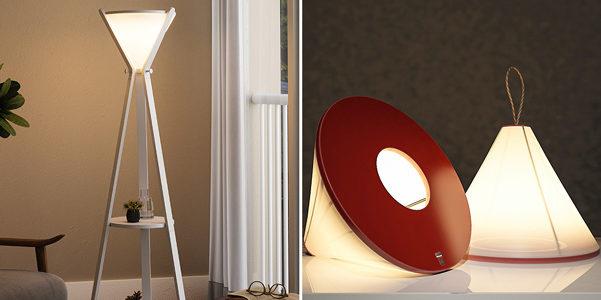 Hourglass, la lampada trasformista che è anche mensola